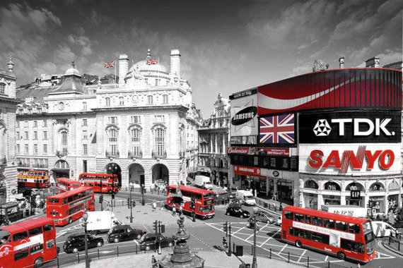 plakat LONDON - PICCADILLY CIRCUS