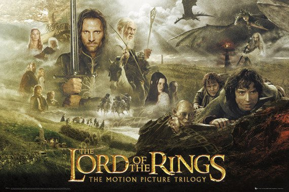 plakat LORD OF THE RINGS - TRILOGY