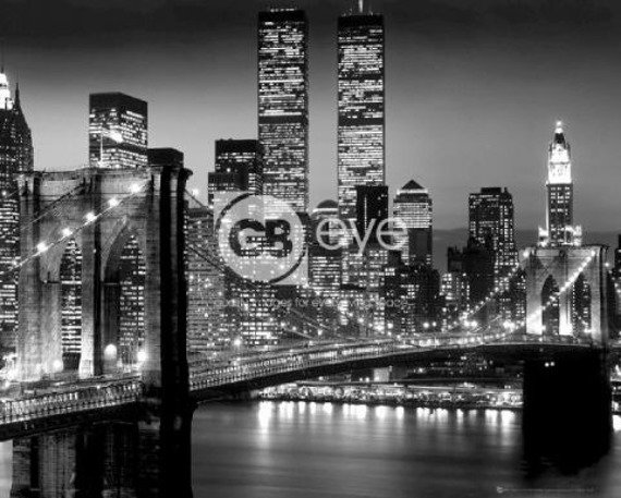 plakat NEW YORK - BRIDGE