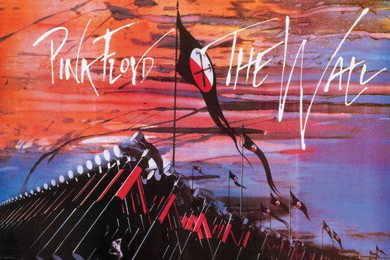 plakat PINK FLOYD - THE WALL