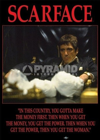 plakat SCARFACE - POWER
