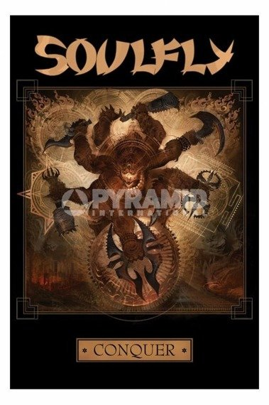 plakat SOULFLY - CONQUER