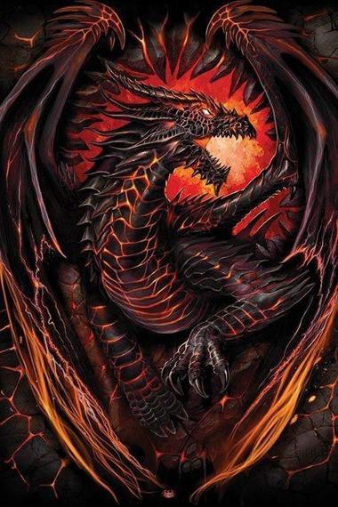 plakat SPIRAL - DRAGON FURNACE