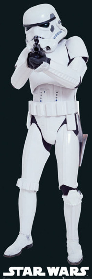 plakat STAR WARS - STORMTROOPER