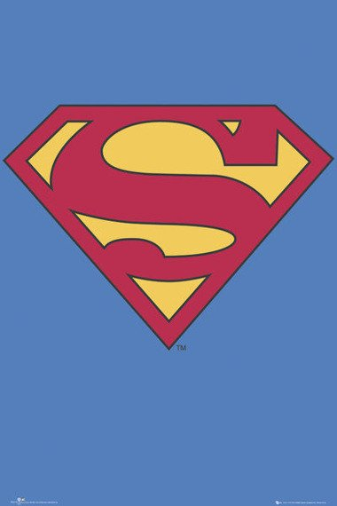 plakat SUPERMAN - LOGO