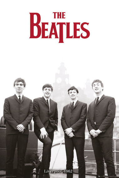 plakat THE BEATLES - LIVERPOOL '62