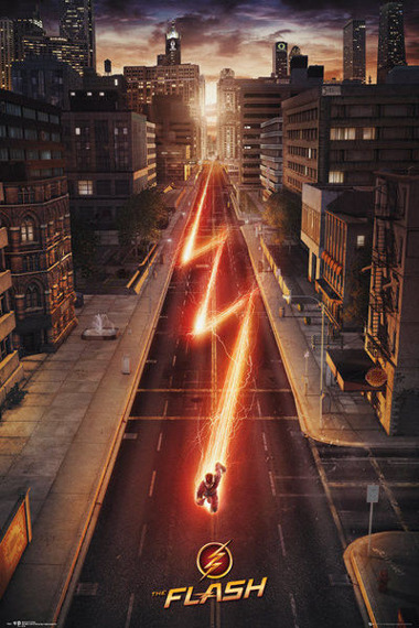 plakat THE FLASH - ONE SHEET