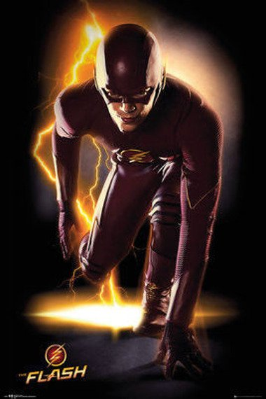 plakat THE FLASH - SPEED