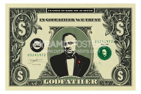plakat THE GODFATHER - DOLLAR