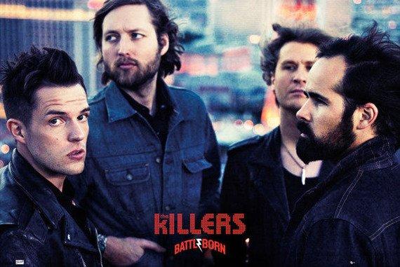 plakat THE KILLERS - BATTLE BORN