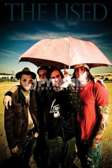 plakat THE USED
