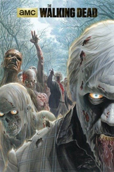 plakat THE WALKING DEAD - ZOMBIE HOARD