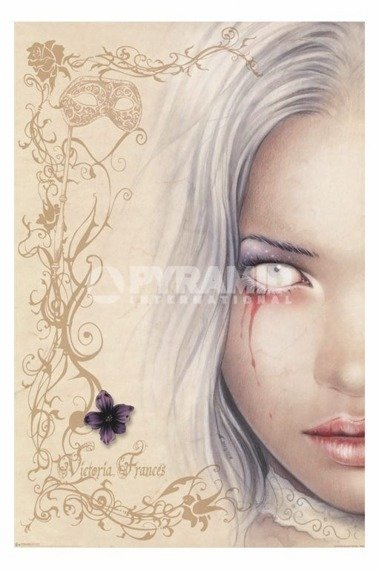 plakat VICTORIA FRANCES - BLOOD TEARS