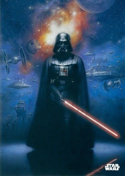 plakat z metalu STAR WARS - POWER OF THE EMPIRE