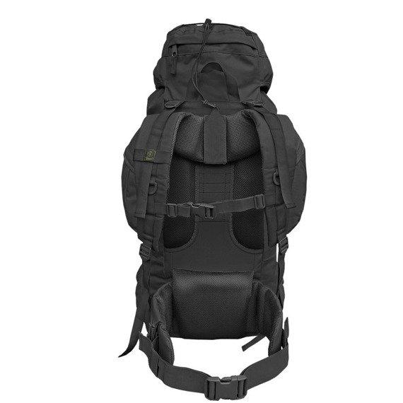 plecak AVIATOR - BLACK, turystyczny 80 litrów