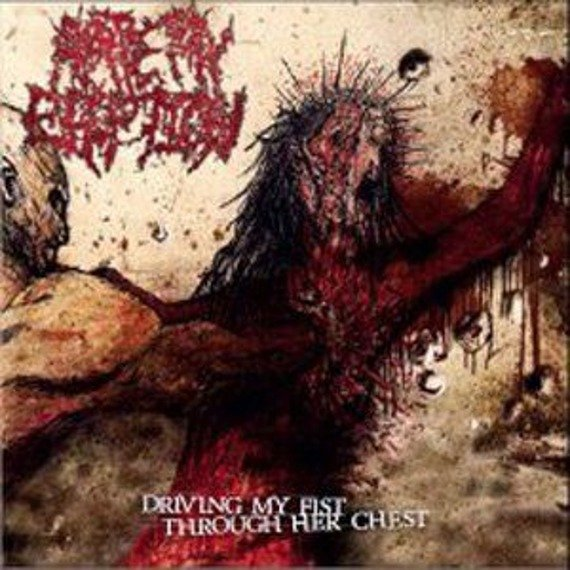 płyta CD: ARTERY ERUPTION - DRIVING MY FIST THROUGH HER CHEST