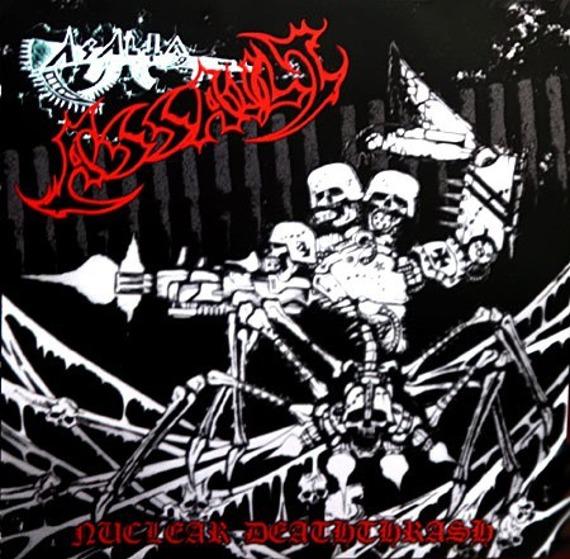 płyta CD: ASSAULT - NUCLEAR DEATHTHRASH