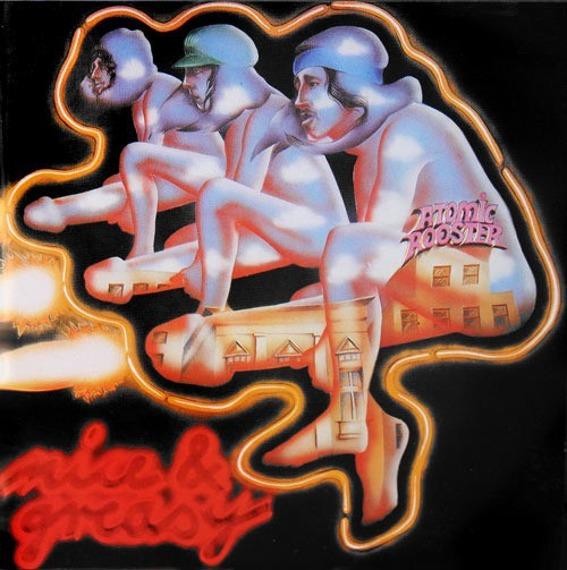 płyta CD: ATOMIC ROOSTER - NICE 'N' GREASY