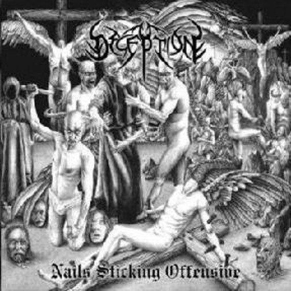 płyta CD: DECEPTION - NAILS STICKING OFFENSIVE