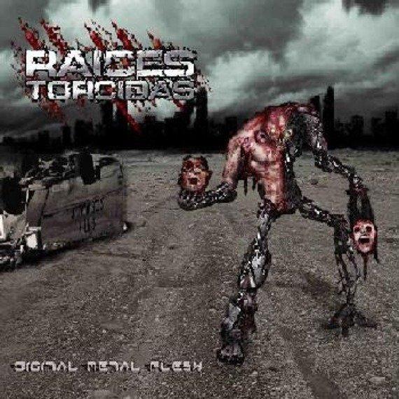 płyta CD + DVD: RAICES TORCIDAS - DIGITAL METAL FLESH (digipack)