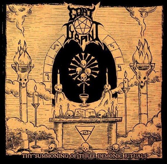 płyta CD: GOAT TYRANT - THY SUMMONING OF THREE DEMONIC RITUALS