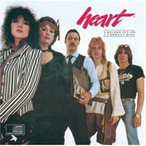 płyta CD: HEART - GREATEST HITS: LIVE