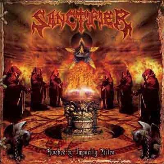 płyta CD: SANCTIFIER - AWAKED BY IMPURITY RITES