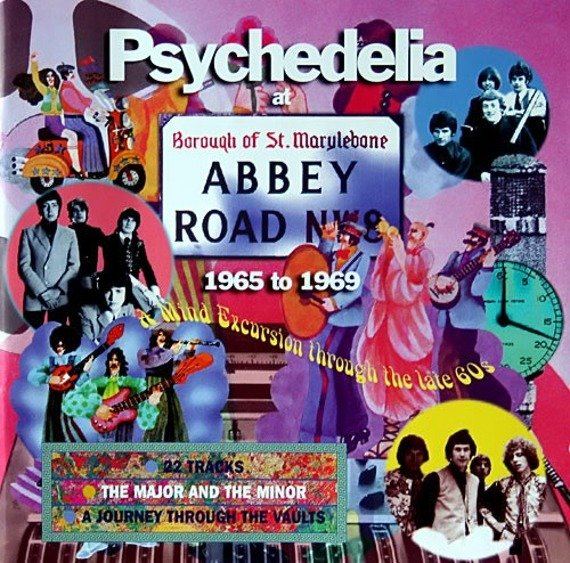 płyta CD: YANNI - PSYCHEDELIA AT ABBEY ROAD: 1965-1969 (original recording remastered)
