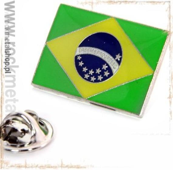 przypinka BRAZYLIA