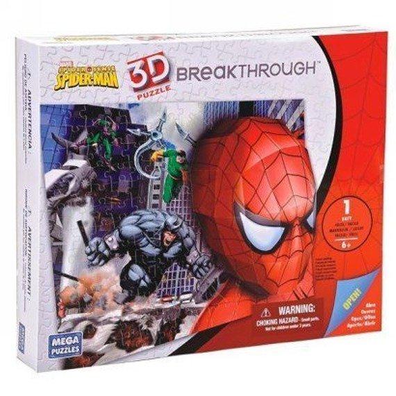 puzzle DISNEY - 3D SPIDERMAN 100 szt  wiek 6+