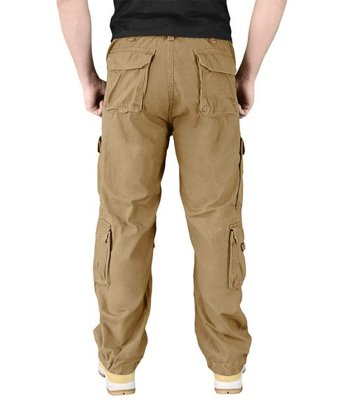 spodnie bojówki Airborne Vintage - kremowe