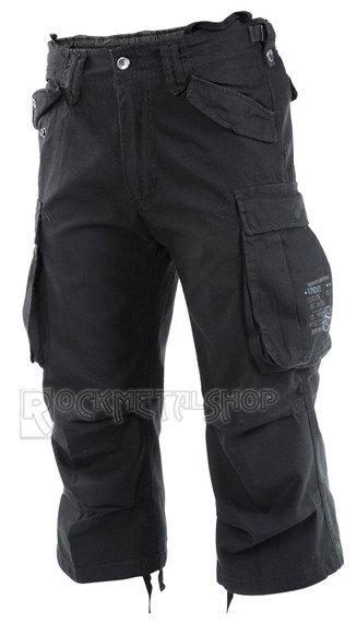 spodnie bojówki INDUSTRY VINTAGE 3/4 - BLACK