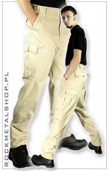 spodnie bojówki US RANGER HOSE - beige