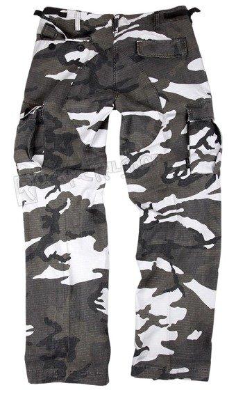 spodnie bojówki damskie US BDU HOSE WOMAN RIP-STOP PREWASH URBAN