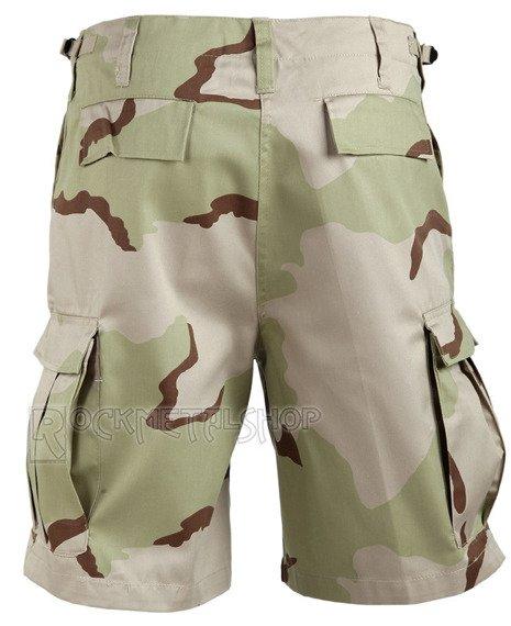 spodnie bojówki krótkie COMBAT SHORTS - 3-COLOR DESERT