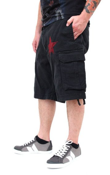 spodnie bojówki krótkie RAGE AGAINST THE MACHINE - RED STAR