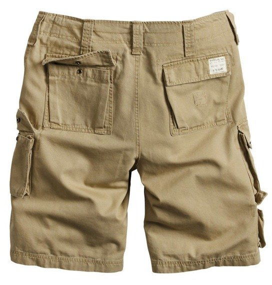 spodnie bojówki krótkie TROOPER SHORTS beige