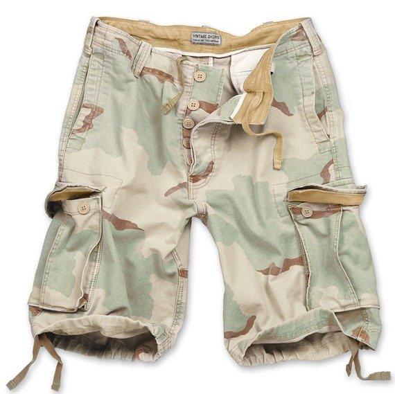 spodnie bojówki krótkie VINTAGE FARBEN DESERT
