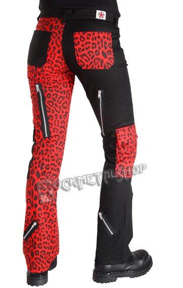 spodnie unisex FREAK PANTS LEO RED