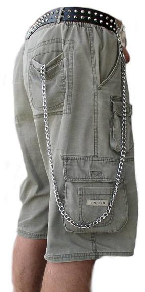 średni łańcuch do kluczy/portfela (150 cm) z karabińczykiem NR 1