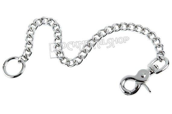 średni łańcuch do kluczy/portfela (40 cm) z karabińczykiem NR 2