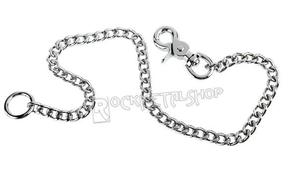 średni łańcuch do kluczy/portfela 60 cm