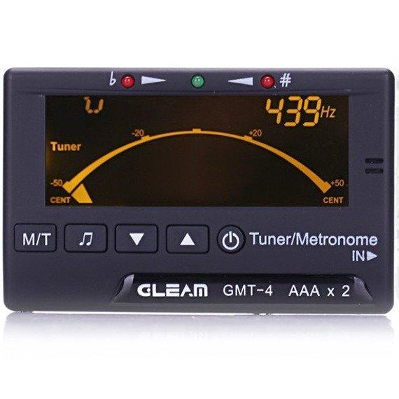 """stroik """"3w1"""": tuner CHROMATYCZNY / METRONOM / KAMERTON GLEAM GMT-4"""
