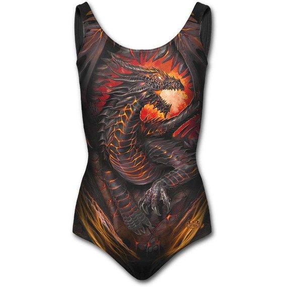 strój kąpielowy SPIRAL - DRAGON FURNACE