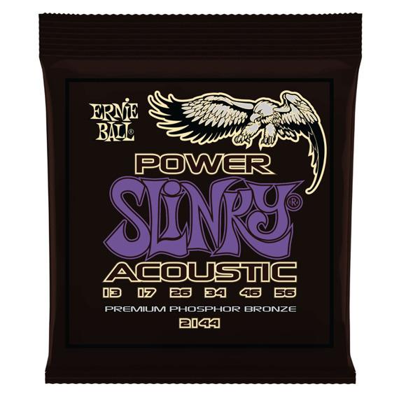struny do gitary akustycznej ERNIE BALL EB2144 Phosphor Bronze Slinky Power /013-056/