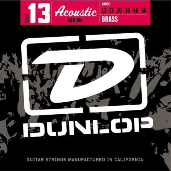 struny do gitary akustycznej JIM DUNLOP BRASS /013-056/ (DAB2016)