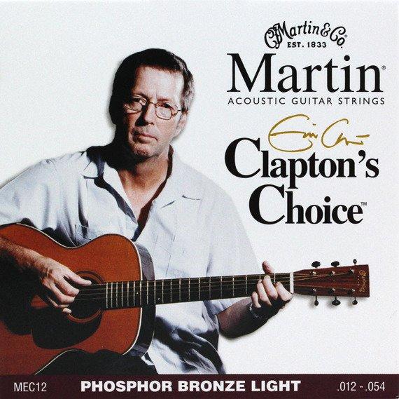 struny do gitary akustycznej MARTIN MEC12 - PHOSPHOR BRONZE Light /012-054/