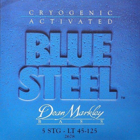 struny do gitary basowej 5str. DEAN MARKLEY - BLUE STEEL LT 45-125