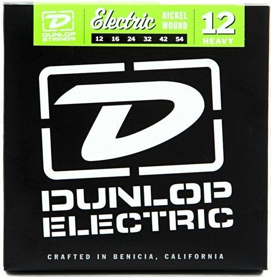 struny do gitary elektrycznej JIM DUNLOP - HEAVY, NICKEL WOUND DEN1254 /012-054/