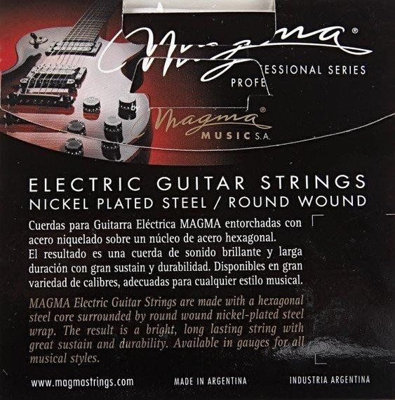 struny do gitary elektrycznej MAGMA GE160N Nickel Plated / Medium /011-050/
